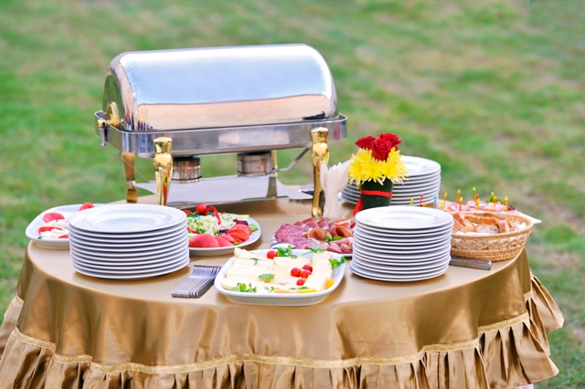 Food Stations At A Wedding Reception All In The Invite