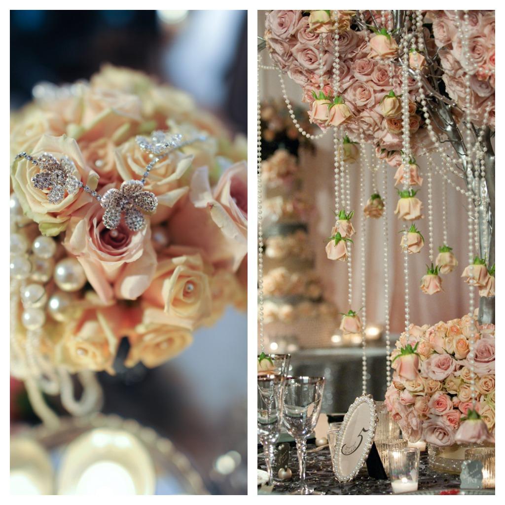 Vintage Decorating Ideas For Weddings: Vintage Glam Wedding