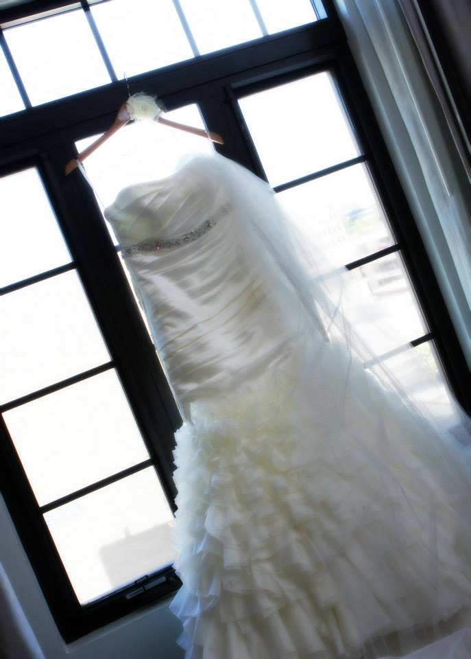 Natalie's wedding dress
