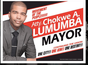 Spash Page on Previous Lumumba Site