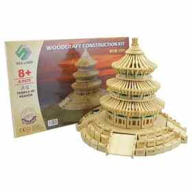 Temple de Heaven en bois