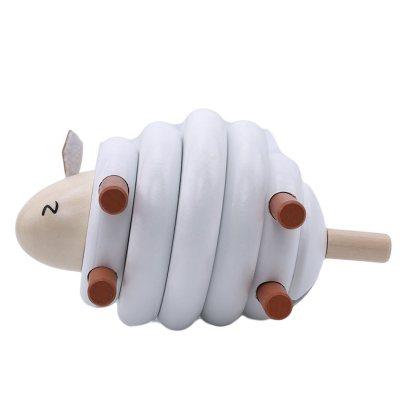 Mouton en bois 3