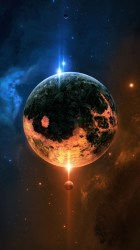 iphone planet fantasy wallpapers hd
