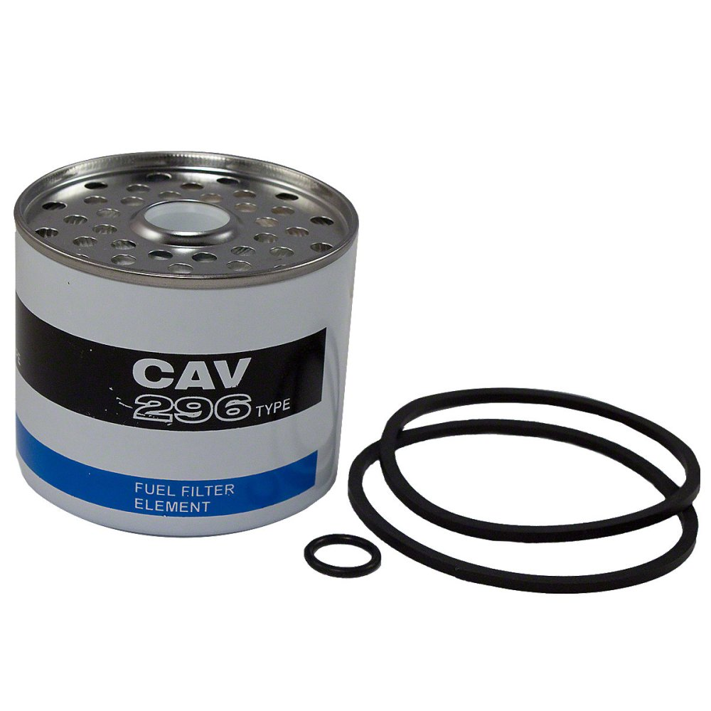 medium resolution of fuel filter element with seals for cav and simms fuel filters for allis chalmers 160
