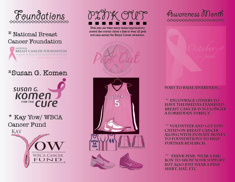In Design Breast Cancer Awareness Brochure