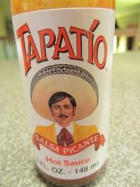 Tapatio hot sauce.