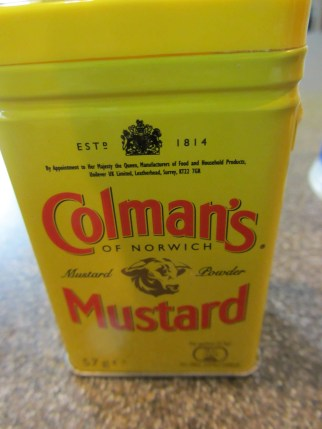 Dry mustard.