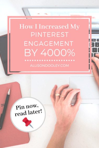 pinterest engagement increase traffic views
