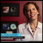 Subscribe to Allison's Youtube channel for her video blog, music and storytelling