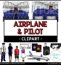 community helpers airplane pilot clip art [ 1200 x 1200 Pixel ]