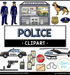 community helpers police clip art [ 1200 x 1200 Pixel ]