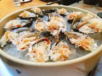 hog island oyster, kohlrabi kraut & sesame 3