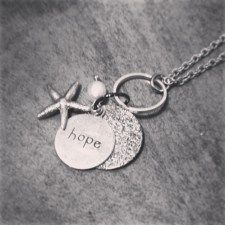 Hope with pearl and starfish