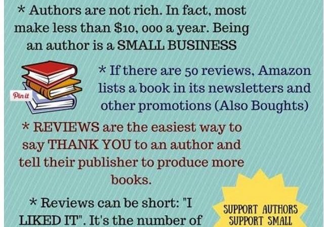 Why Book Reviews Are So Important to Authors