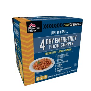 Mountain House – 4 Day Emergency Food Supply