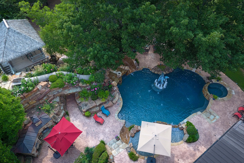 Backyard Waterpark - Allison Landscpe & Pool Company