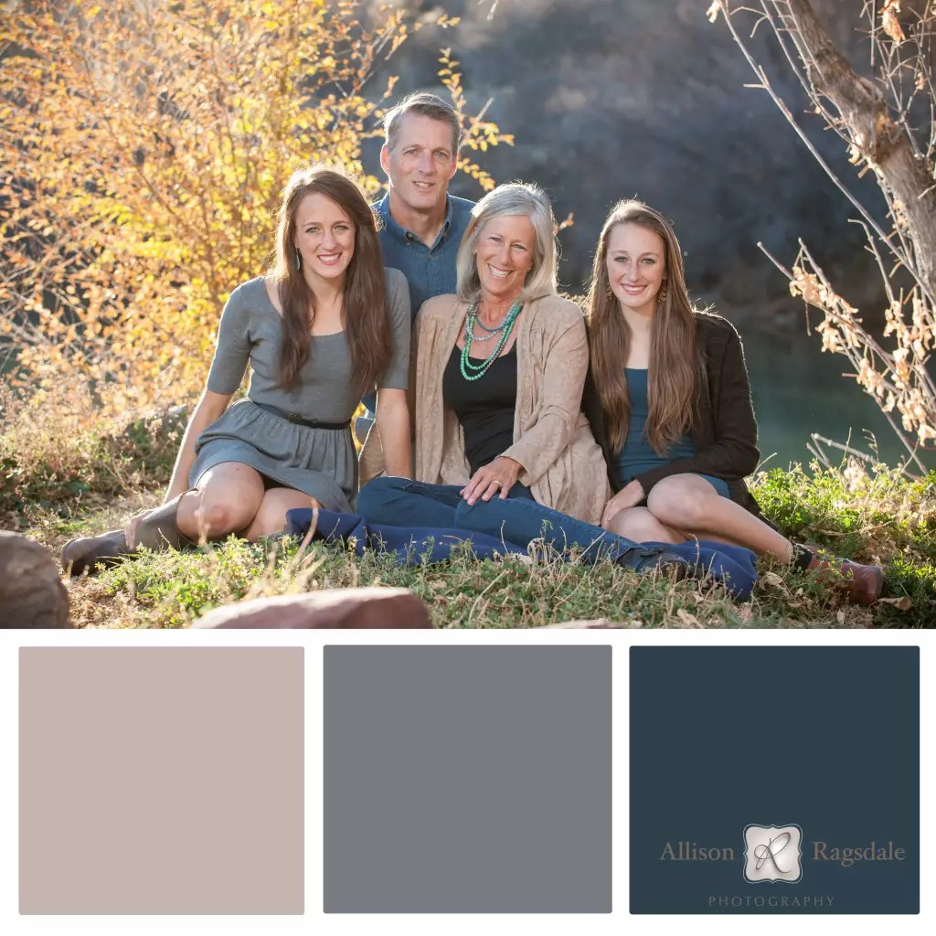 Family Portrait Color Palettes Durango Wedding And