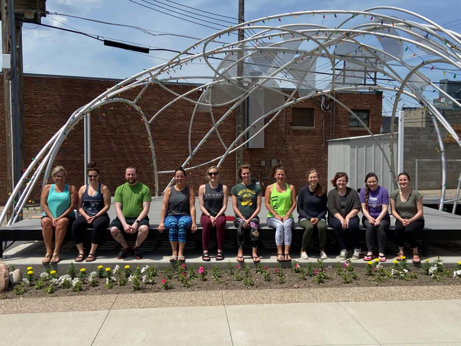 Jamestown Group Yoga Teacher Training Allison Rissel