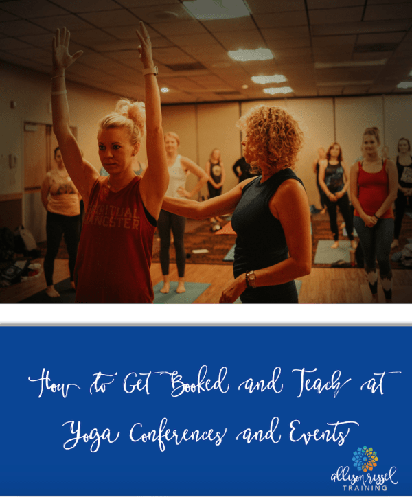 Get Booked At Yoga Conferences