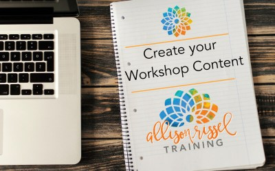 Create Your Workshop Content