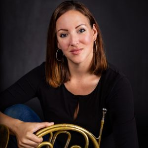 Allison with Horn