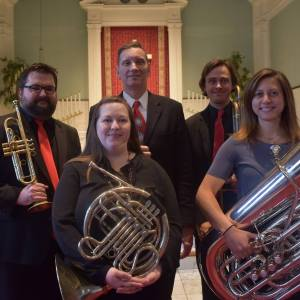 Find us at Doctors Park: North Point Brass Quintet @ Doctors Park