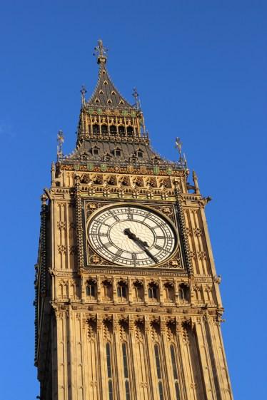 CLOCK. I'll say. Big Ben, London.