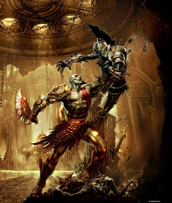god of war review greek mythology video game gamespy