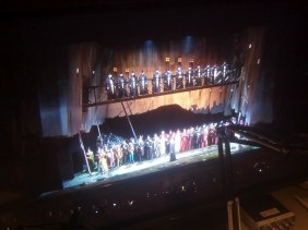 """Curtain Call: Opening night of """"I Due Foscari"""" at LA Opera (photo by CK Dexter Haven)"""
