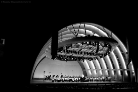Rafael Frühbeck de Burgos - LA Phil - Hollywood Bowl - 23 July 2013 (photo by Brandise Danesewich) 22