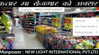 Photo of 15 Candidates Required for HYPER MARKET in Qatar