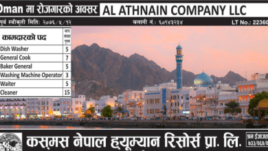Photo of 40 Candidates Required for work in OMAN
