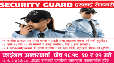 Photo of Vacancy for Male Female Security Gurard in Bahrain