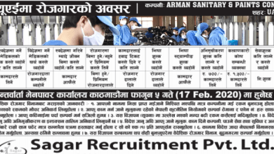 Photo of Vacancy From UAE to work in Sanitary & Paints Company