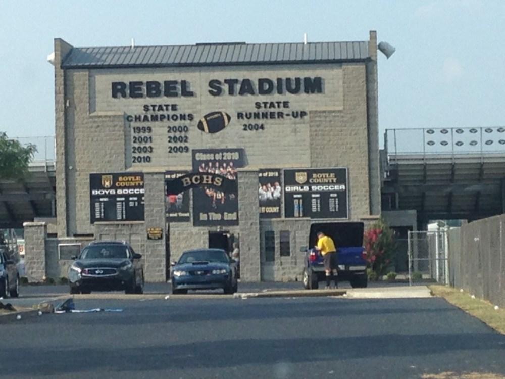 rebel stadium