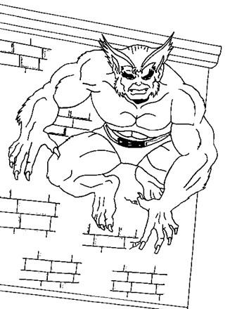 X Men Coloring Pages : coloring, pages, Coloring, Beast, Network