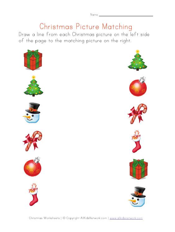Printable Christmas Worksheets