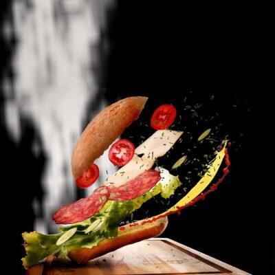 club sandwich / veg sandwich