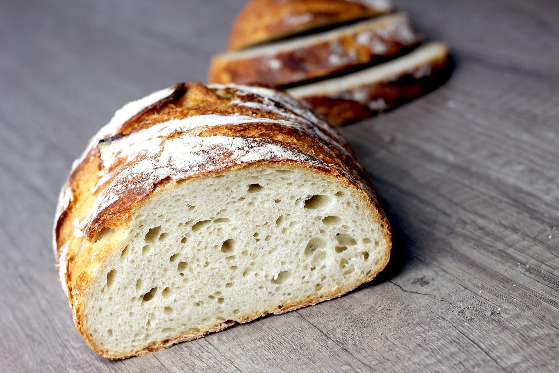Sourdough bread with starter