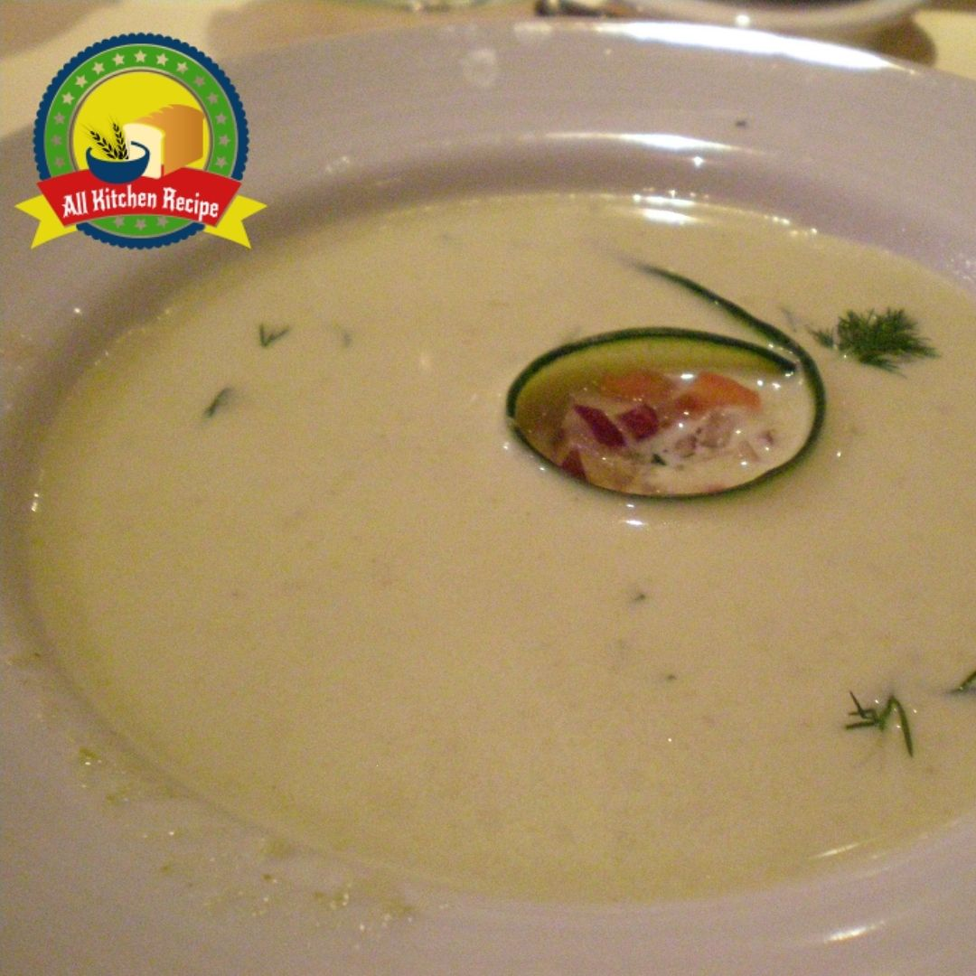 Recipe for Cold Cucumber Soup