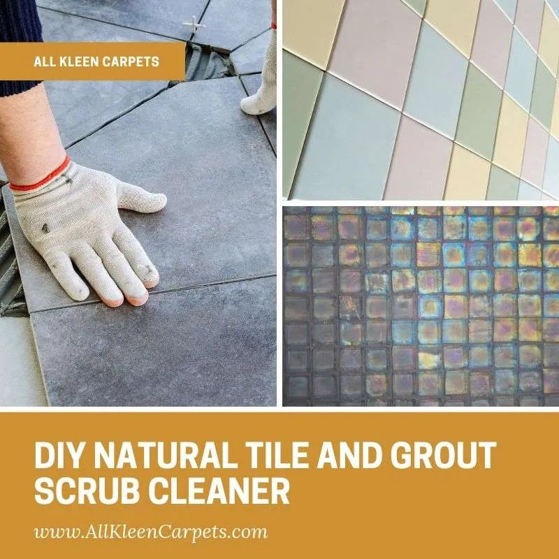 diy natural tile and grout scrub