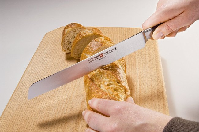best bread knife wusthof classic ikon