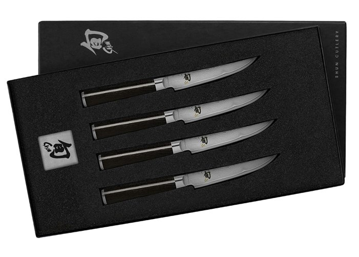best shun knives shun classic steak knives
