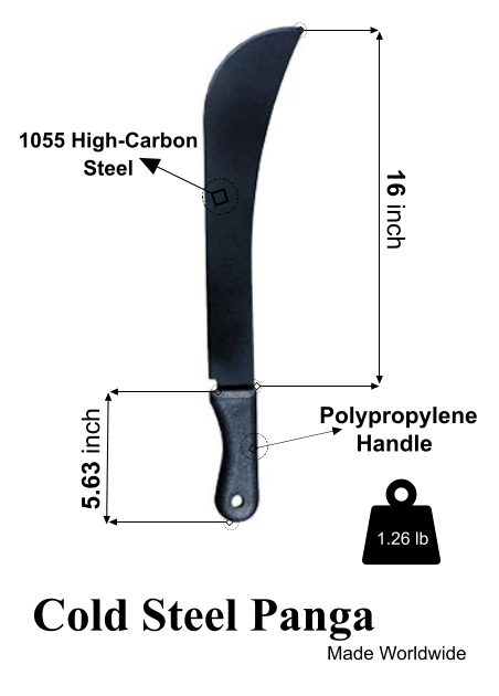 Best machete Cold Steel panga