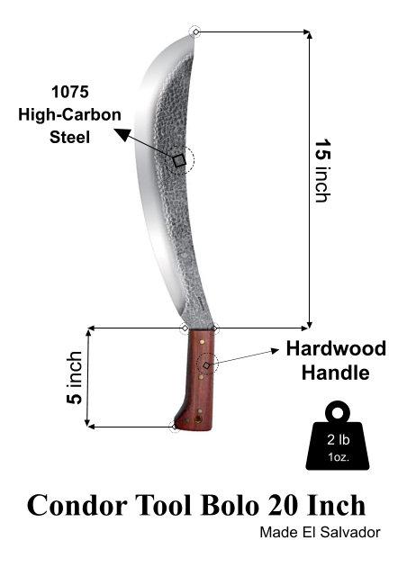 best survival machete Condor Tool Bolo machete