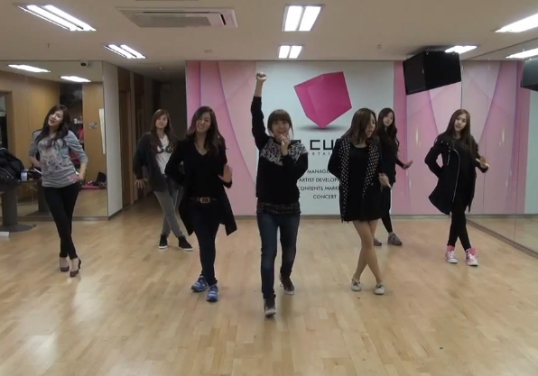 "A Pink Releases Rehearsal Video For ""my My"" Allkpopcom"