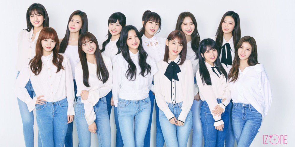 Iz*one Reveal Their Very First Official Group Profile Photo
