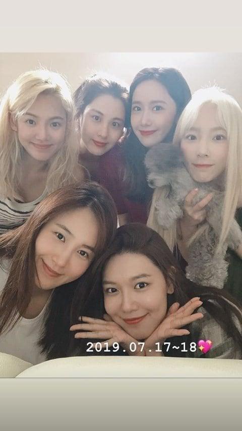 Girls' Generation Membres : girls', generation, membres, Girls, Generation, Members, Selfie, Together, Allkpop