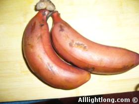 Banane peau rouge Chine