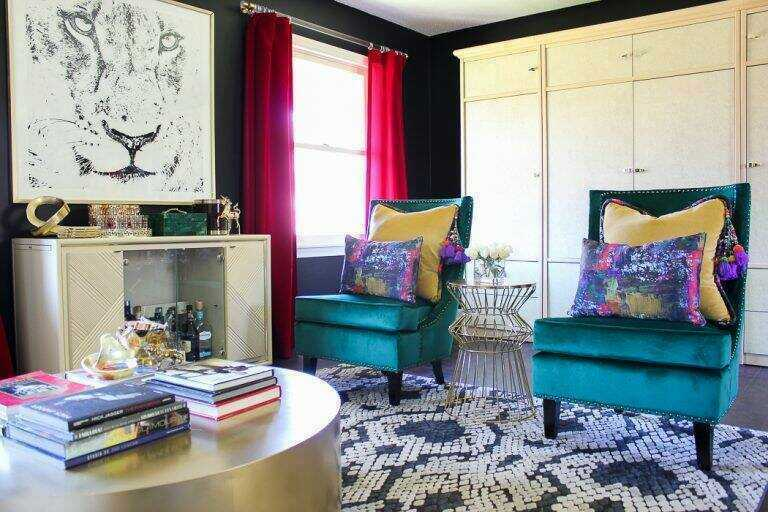 Fabric By The Yard - Bohemian Interior Design - Boho Luxe